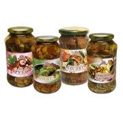 Eingelegte Pilze in großer Auswahl frisch rein...