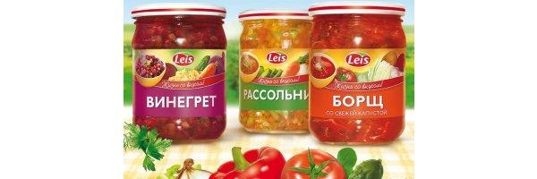Russische, Polnische, Rumänische Fertiggerichte Spezialitäten