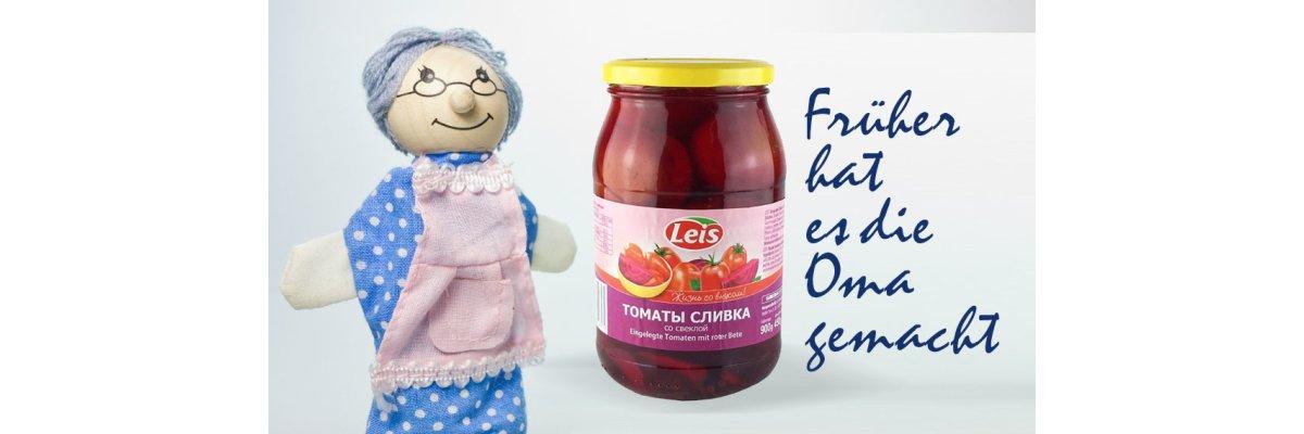 Eingelegte Tomaten mit roter Bete - Tomaten eingelegt mit roter Bete online bestellen