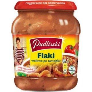 PL Pudliszki Flaki/Kuttelsuppe in T/sauce 500g