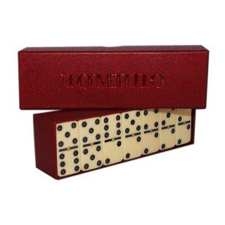 "Brettspiel ""Domino"" in Karton vers.Farben"