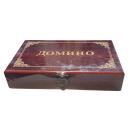 "Brettspiel ""Domino"" in Holz-Schatulle"
