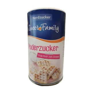 SWEET FAMILY Puderzucker 125g