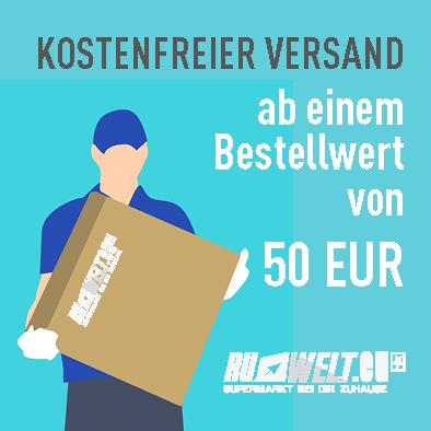 Kostenfreier Versand ab einem Bestellwert von 50 EUR